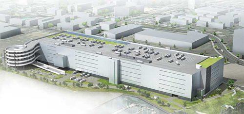 佐川GL 物流センターにプラットフォームセンター新設