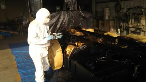 アエラクリエイト 防錆塗装、安全のアピールにも
