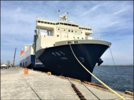 商船三井フェリー 有明ー苅田間のデイリー運航が決定