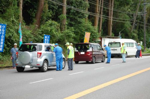 九州運輸局 6月の街頭検査、不適合車両54台