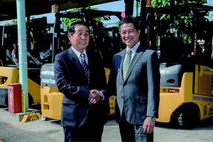 メインマークと栃木小松FLが提携 環境整備サービスを強化