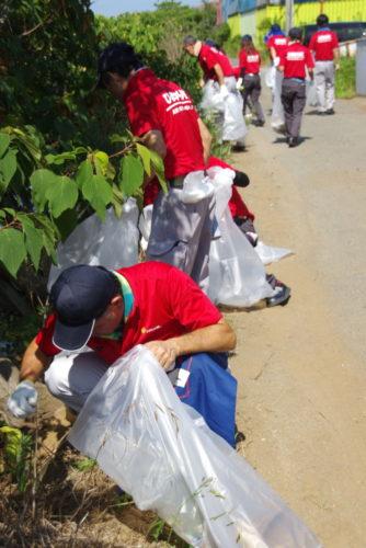 マイシン クリーン活動を実施、70人が参加