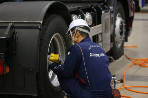 ブリヂストンタイヤジャパン 技能グランプリ全国大会、メンテ技術を次世代に継承