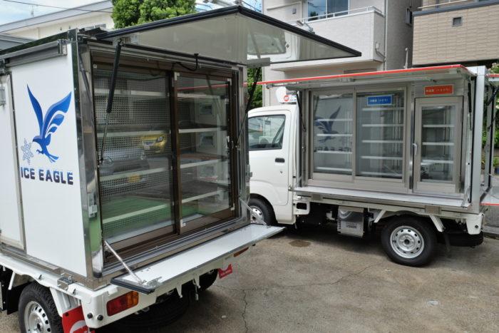 日章冷凍 新型移動販売車を発表