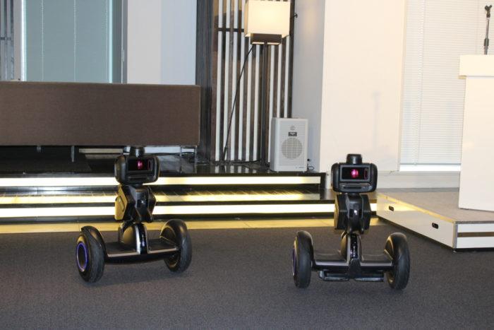CBC 物流センターで活用可能、警備ロボット「Nimbo」
