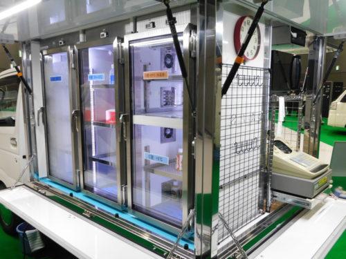 日章冷凍 移動スーパー「EAGLE SUPER」発売、4つの温度帯に対応