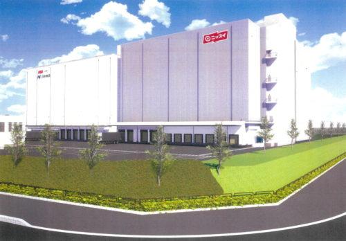 日本水産 日水物流の大阪舞洲物流センターを増設