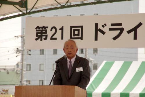 トヨタ輸送とトヨタ協輸会 ドラコンを開催、部品トラック部門優勝は友廣氏