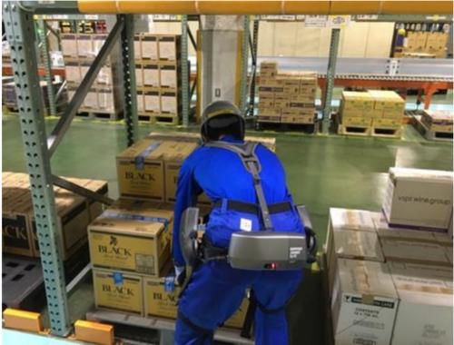 アサヒビール吹田工場 ユーピーアールのアシストスーツを導入