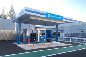 パナソニック 燃料電池フォークリフトの構内運用を開始