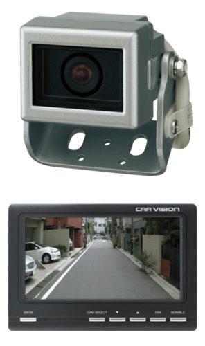 菱和 高い防水性と耐震性、後方確認カメラシステム