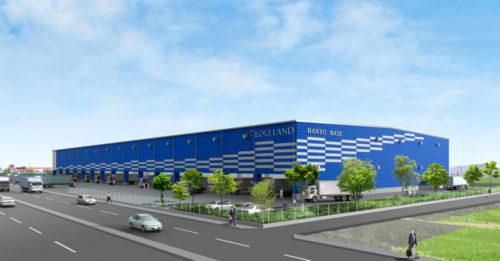 ロジランド 羽生市に大型物流施設、テナントを募集