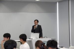 日本物流学会中部部会の講演会 岐ト協臼井専務が講演