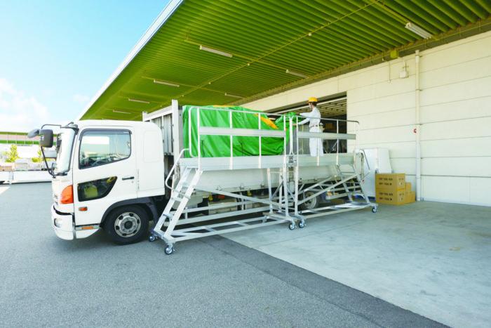 安全で効率的な荷役作業を支援 ピカコーポレイション