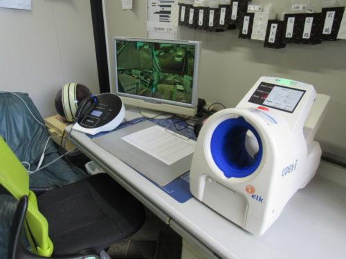 平田商事 血圧計を導入、社員の日々の健康管理