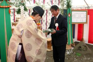 西濃運輸 深川支店の地鎮祭実施