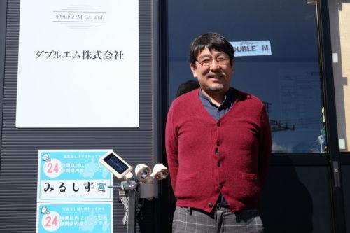 ダブルエム 古賀総社長 外資系IT企業の管理職から運送会社社長へ