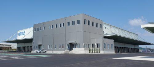 ランテック 門司支店竣工、荷役効率の向上図る