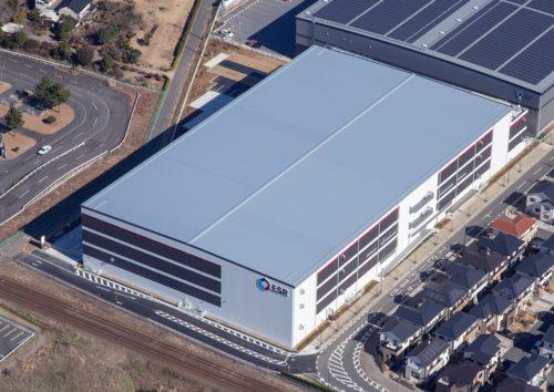 ESR 新規3件のディストリビューションセンター満床