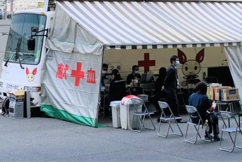 NTTロジスコ 献血活動を実施