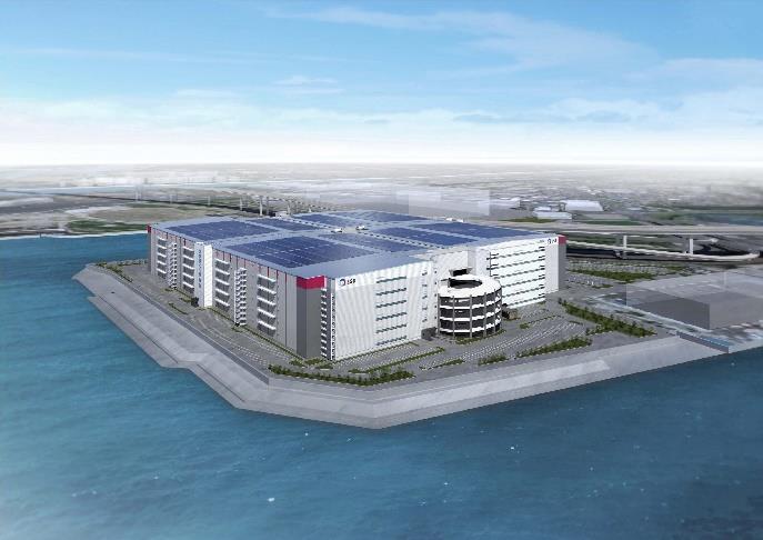 鈴与 日本最大級の物流施設内に尼崎物流センター稼働