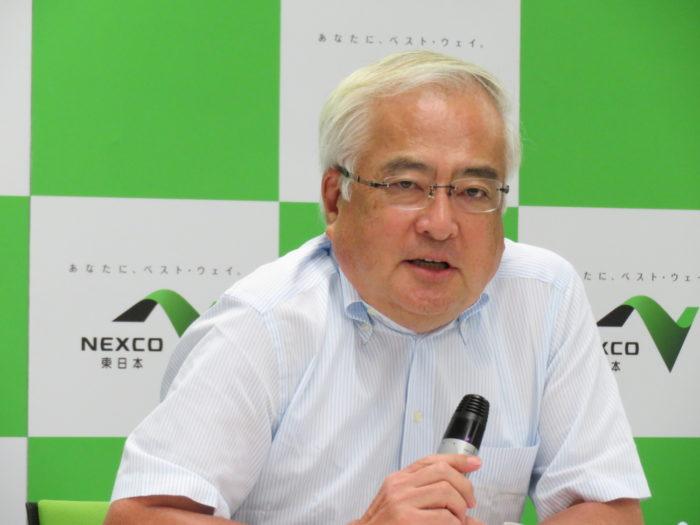 NEXCO東日本 定例記者会見でSMH運用開始を報告