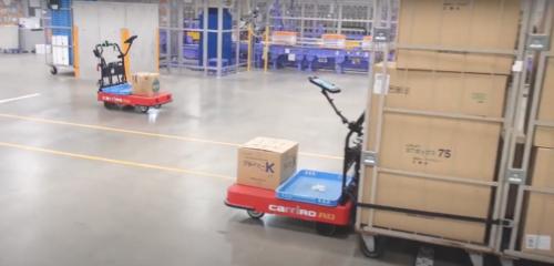 ZMPの物流支援ロボット LIXILビバの物流センターで活用