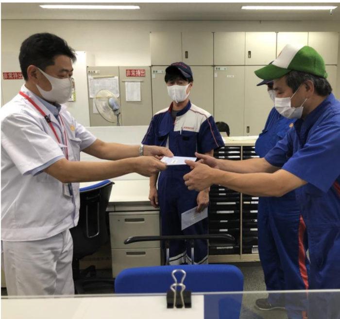 日本梱包運輸倉庫 ドライバー全員に特別安全運行手当
