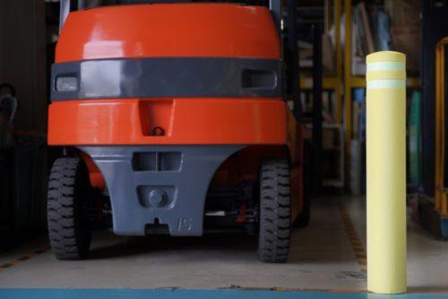 日進ゴム 多機能車止め発売 水災時の「浮き具」として使用可能