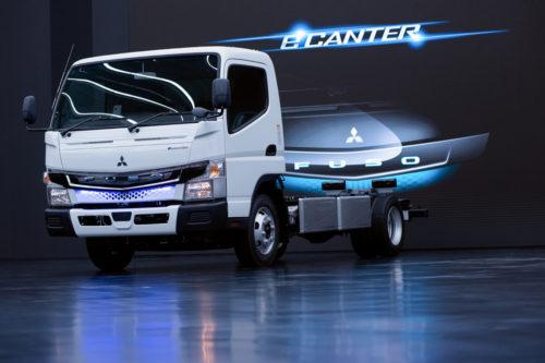 三菱ふそう eCanterに先進安全装置を搭載