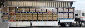 日本通運など3社 共同輸送を開始
