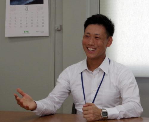 東港タイヤサービス 前田社長「もっとタイヤに関心を」