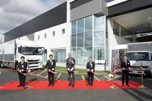 三菱ふそうトラックバス久留米支店 リニューアルオープン
