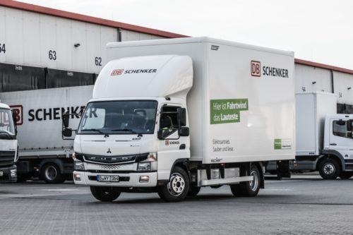 三菱ふそうトラックバス DBシェンカーに「eCanter」納車