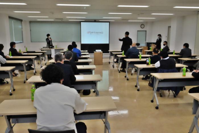 協同組合アツリュウ AIによる自動配車システムの講習会を開催
