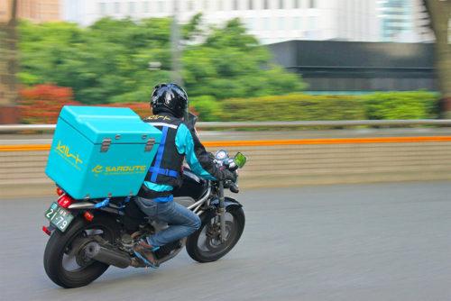 ワンストップビジネスセンター 「当日バイク便受取」セルートと連携で試験導入