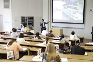 石ト協 北陸学院大学で人材育成プロジェクト参加