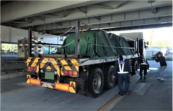 「大型車通行適正化に向けた関東地域連絡協議会」が合同取り締まり実施