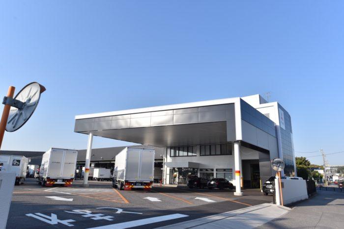 三菱ふそうトラック・バス 岡崎サービスセンターを改装