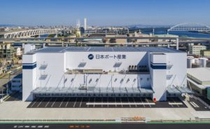 日本ポート産業 神戸市東灘区に新倉庫