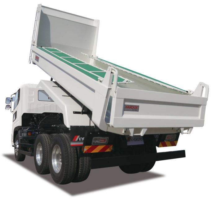 極東開発工業 ダンプトラック改良、耐摩耗鋼板仕様を追加発売