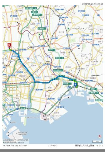 配車で使える多機能&低価格な地図ソフト「Map Fan Desktop」 大型トラック向けルートも検索