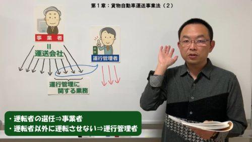 運行管理者試験対策.net 運管試験対策の講習会を動画で配信
