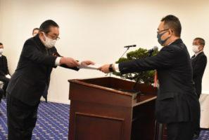 中国運輸局 環境保全部門で福山通運を表彰