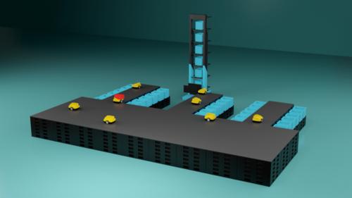 ロジアスジャパン 仕分けから搬送までの自動化を提案
