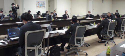 国際物流戦略チーム 本部会合で関西物流の現状を報告