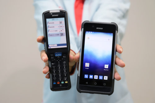 デンソーウェーブ 新型業務用ハンディ「BHTシリーズ」4機種を発売 「ユニバーサルデザイン」採用