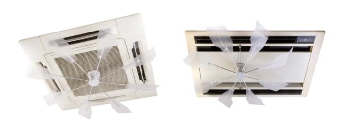 ワイ・エス・ビー エアコンの風力利用「ハイブリッドファン」販売