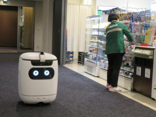 アスラテックとセブンイレブンとソフトバンク 自立走行型配送ロボットの屋内配送の実証実験