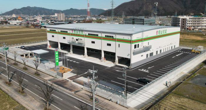 福山通運 福井越前営業所を開所